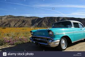 Turquoise/White 1957 Chevy Bel Air 2-Door Hardtop Classic car ...