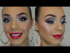 blue ballroom eyeshadow look