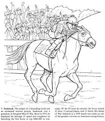 Small Picture Horse Racing Coloring Book Coloring Pages