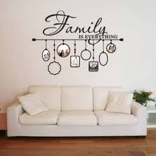 >shop size large vinyl wall art discover our best deals at  family picture frame deco vinyl wall art