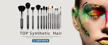 jessup best makeup brushes set powder blush concealer blending cosmetic 15 12pcs