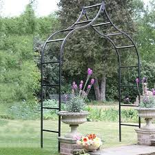 Small Picture Garden Arches Metal vs Wood