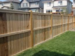 outdoor wooden backyard fences design