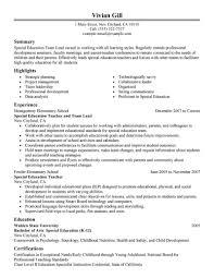 Team Leader Resume Format It Resume Cover Letter Sample