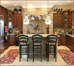 decorating above kitchen cabinets rustic country kitchen decorating ideas decorating kitchen cabinets