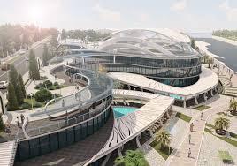 Проект Дизайн концепция спортивно оздоровительного центра от  Сам Оздоровительный