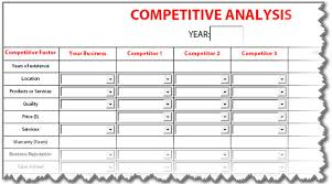 Competitive Analysis Matrix Template How To Create Your Hotel Competitive Set Analysis Hotelminder