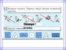 Презентация к уроку информатики на тему Контрольная работа № А  птицы белые Смотрят влево