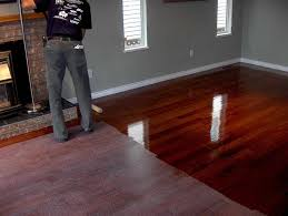 cherry hardwood floor. Dark Grey Walls With Cherry Floorboards Hardwood Floor