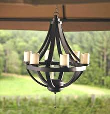 battery operated outdoor chandeliers for gazebos battery operated outdoor chandeliers for gazebos lighting throughout plans 4