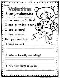 Kids. reading comprehension worksheets 1st grade: Worksheets For ...