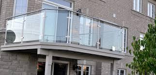 Exterior Glass Railing Systems Gl Kit Deck Home Depot Deckscom