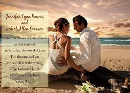 top 5 photo wedding invitations to set the mood for your big day Wedding Invitation Photography Ideas beach theme photo wedding invitations wedding invitation photo ideas