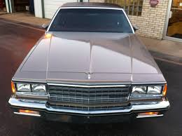 1984 Chevrolet Caprice 383 Stroker 26K Original Miles!! - Classic ...