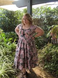 Product Review Pinup Girl Clothing Evelyn Dress Vera Gin