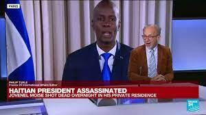 Haitian President Jovenel Moise shot ...