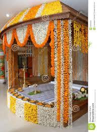 Wedding Flowers Decoration A Kerala Wedding Flower Decoration Editorial Stock Image Image