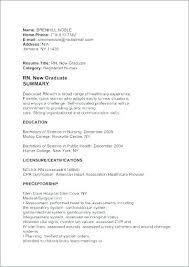 Recent Graduate Cover Letter Nursing New Grad Cover Letter New Grad