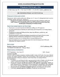 Public Accounting Resume Free Resume Templates 2018