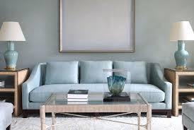 light blue living room furniture. living room with light blue sofa and lamps glass table furniture