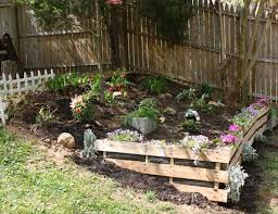 Small Picture Pallet retaining wall Yard Garden Pinterest Retaining