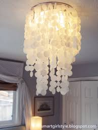 inspiration house brilliant laminated rice paper faux capiz shell chandelier diy diy s with regard