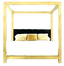 gold canopy bed frame – mygearonline.co
