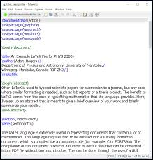 all latex files require commands to be given in the tex file these commands tell miktex how to set up and typset a doent some of these commands can be