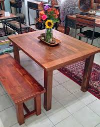 awesome teak dining table 3 foot x 5 foot with 4 legsimpact imports 3 x 5 dining table decor