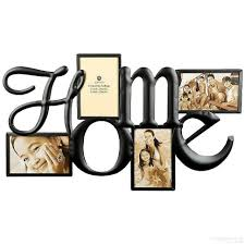 H O M E Wall Words in copper wire 4 opening collage by Burnes