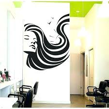 salon wall decal hair salon wall decor hair salon wall decals girl face beauty hair salon