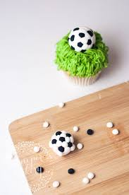 How To Make Soccer Ball Decorations For Cupcakes