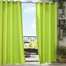 gazebo bright solid outdoor curtain panel