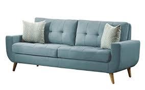 Amazon Homelegance Deryn Mid Century Modern Sofa with Tufted