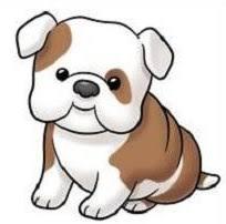 bulldog clipart. Simple Clipart Free Bulldog Clipart For G