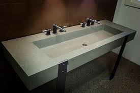 Concrete Trough Sinks.