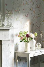 Love this pretty bird design wallpaper, perfect for Summer Wallpaper Direct  Albany Pheobe wallpaper
