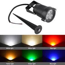 12v Led Spike Light Bulb Lamp Spotlight Outdoor Garden Yard Path Landscape Worldwide Storeclearance Sale