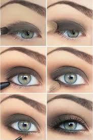 makeup for green eyes the sultry grey green look