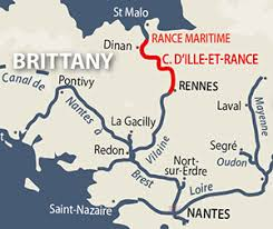 Ille Et Rance Canal River Navigation Guide And Maps French