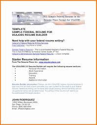 Federal Resume Samples Awesome Resume Samples Careerproplus