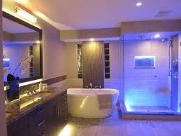 Small Picture Awesome Led Lighting In Bathroom Contemporary Home Decorating
