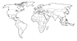 Small Picture Perfect World Map Coloring Page 92 About Remodel Coloring Pages