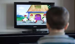 kids watching too much tv. too much young: children glued to tv and computer screens at increased risk of cancer obesity kids watching tv