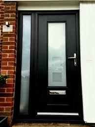 World Class Wooden Front Door With Glass Modern Exterior Doors ...