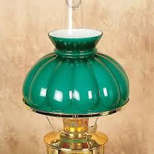aladdin dark green melon oil lamp shade