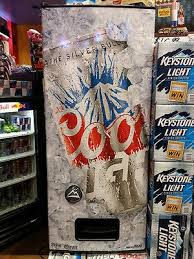 Coors Light Vending Machine Mesmerizing Coors Light Beers Cans Dispensing Refrigerator 48