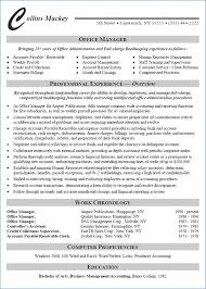 Office Assistant Resume Objective Resume Layout Com