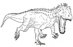 Get This Printable T Rex Coloring Pages 63679 Jurassic Park T Rex
