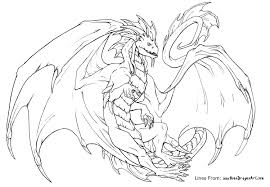 Dragon Coloring Pages For Adults And Free Printable Wumingme